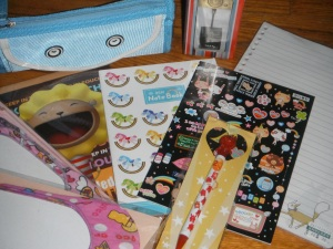 Stationery and some Odds and Ends